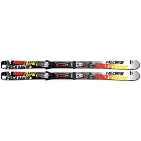 Лыжи FISCHER® Motive 74 PR (165) + креп. RS10 PR