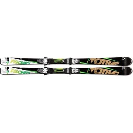 Лыжи FISCHER® Motive 76 PR (168) + креп. RS10 PR