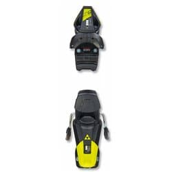 Крепление FISCHER RC4 Z9 GW AC BRAKE 78 [J] SOLID BLACK/YELLOW