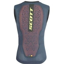Защита спины SCOTT AirFlex MS Light Vest Protector blue nights/lime yellow Р:S