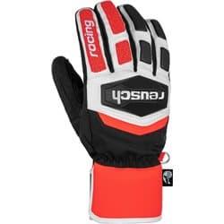Перчатки REUSCH Worldcup Warrior R-Tex® XT Black/White/Fluo Red P:9