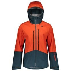 Куртка мужская SCOTT Explorair 3L Tangerine Orange/Nightfall Blue Р:XXL