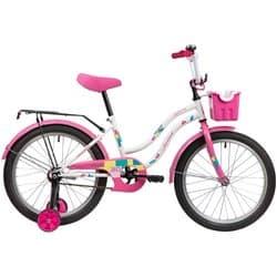 """Велосипед 20"""" NOVATRACK TETRIS Белый"""
