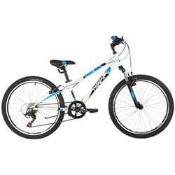 "Велосипед 24"" NOVATRACK EXTREME 11"" 6 скор. Белый"
