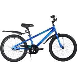 """Велосипед 20"""" NOVATRACK JUSTER Синий"""