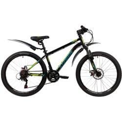 """Велосипед 24"""" STINGER ELEMENT EVO 12"""", 12 скор. Черный"""