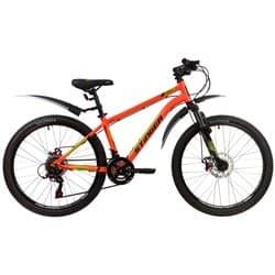 "Велосипед 24"" STINGER ELEMENT EVO 14"", 12 скор. Оранжевый"