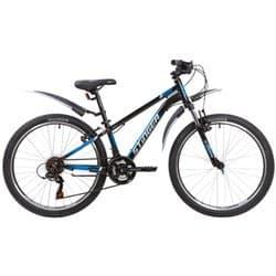 """Велосипед 24"""" STINGER ELEMENT STD 14"""" 12 скор. Черный"""