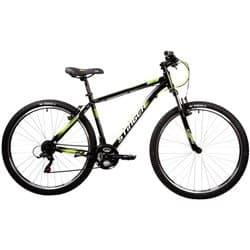 """Велосипед 27.5"""" STINGER CAIMAN 16"""" 18 скор. Черный"""
