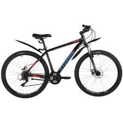 """Велосипед 27.5"""" STINGER CAIMAN D 16"""" 18 скор. Черный"""