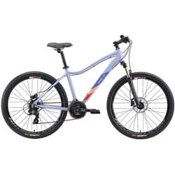 "Велосипед женский 26"" WELT Edelweiss 1.0HD 18"" Matt purple 2021"