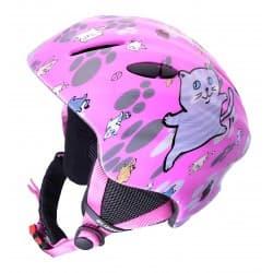 Шлем BLIZZARD® Magnum pink cat shiny (52-56)