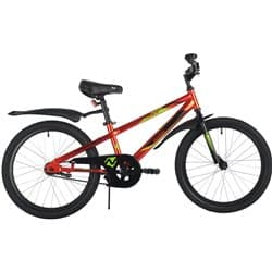 """Велосипед 20"""" NOVATRACK JUSTER Красный"""