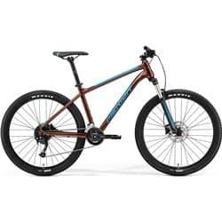 """Велосипед горный Merida Big.Seven 100-2x К:27.5"""" Р:M(17"""") Bronze/Blue"""
