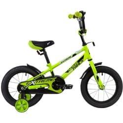 """Велосипед 14"""" NOVATRACK EXTREME Зеленый"""