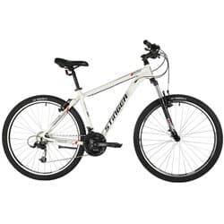 "Велосипед 27.5"" STINGER ELEMENT STD 20"" 21 скор. Белый"