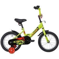 """Велосипед 14"""" NOVATRACK TWIST Зеленый"""