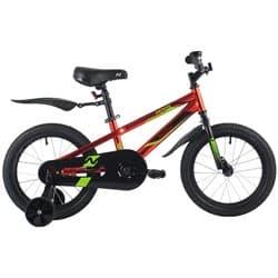"""Велосипед 16"""" NOVATRACK JUSTER Красный"""
