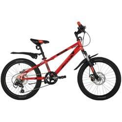 """Велосипед 20"""" NOVATRACK EXTREME 6 скоростей, Красный"""