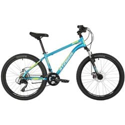 "Велосипед 24"" STINGER CAIMAN D 14"" 12 скор. Синий"