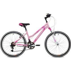 """Велосипед 24"""" STINGER LATINA 12"""" 12 скоростей, Розовый"""