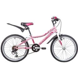 "Велосипед 24"" NOVATRACK ALICE 12"" 6 скор. Розовый"