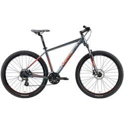 "Велосипед 29"" WELT Rockfall 2.0 18"" Matt Grey/Red 2021"