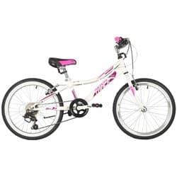 """Велосипед 20"""" NOVATRACK ALICE 6 скоростей, Белый"""