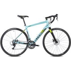 """Велосипед шоссейный 28"""" STINGER STREAM EVO 50см 16 скоростей, Синий"""