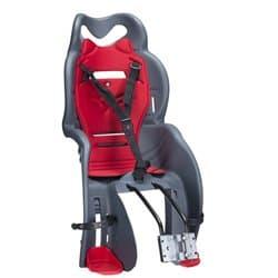 Велокресло HTP 930 Sanbas grey/red 22кг. с креп. на раму