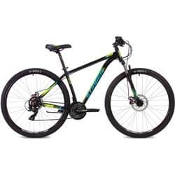 """Велосипед 29"""" STINGER ELEMENT EVO 20"""" 21 скоростей, Черный"""