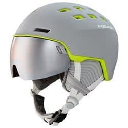 Шлем HEAD RACHEL с визором grey/lime M/L 56-59