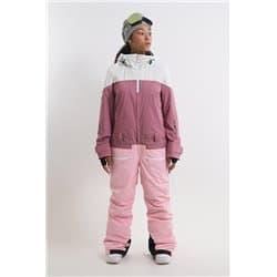 Комбинезон COOL ZONE VIBE белый/темно-розовый/светло-розовый Р:M