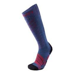 Носки UYN MS SKI COMFORT FIT MAN A201 Jeans Melange/Red Р:45-47