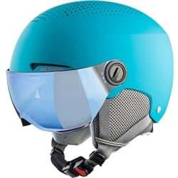 Шлем ALPINA Zupo Visor Q-Lite Turquoise Matt 54-58