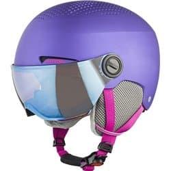 Шлем ALPINA Zupo Visor Q-Lite Violet Matt 54-58