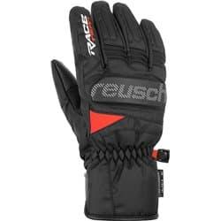 Перчатки REUSCH MS Ski Race VC R-Tex® XT Black/White/Fluo Red P:9
