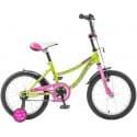 """Велосипед 16"""" NOVATRACK NEPTUNE 16 салатовый, для детей 4-7 лет"""