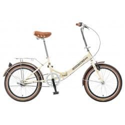 """Велосипед Складной 20"""" NOVATRACK AURORA 3 скорости Shimano Nexus Бежевый"""