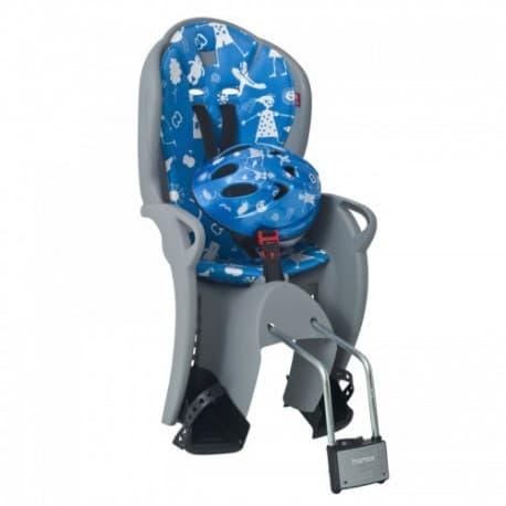 Кресло дет. HAMAX Kiss Safety серый/синий