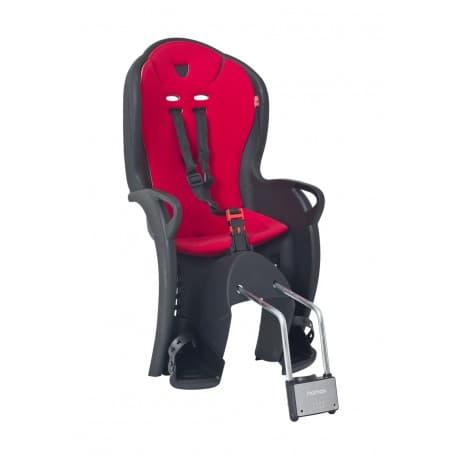 Кресло дет. HAMAX Kiss черный/красный