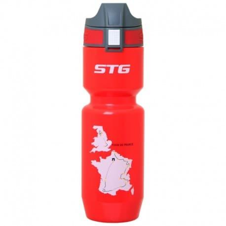 Фляга вело STG 750мл Tour De France красн. X66452