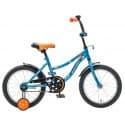 """Велосипед 14"""" NOVATRACK NEPTUNE 14 синий, для детей 3-5 лет"""