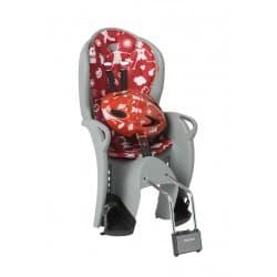 Кресло дет. HAMAX Kiss Safety серый/красный