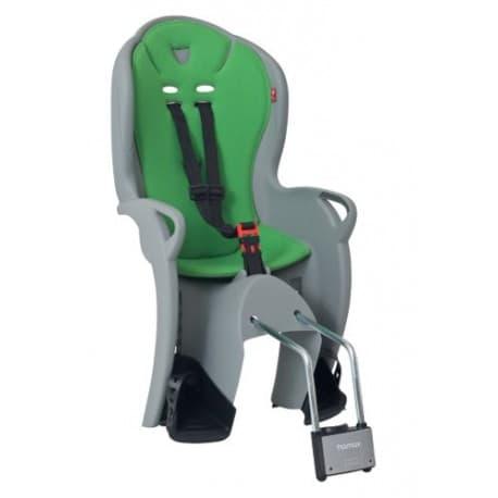 Кресло дет. HAMAX Kiss серый/зеленый