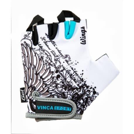 VINCA Перчатки вело VG-947 Wings S