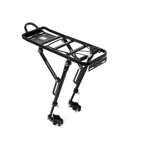 Багажник H-AL 18 крепление на перо велосипеда