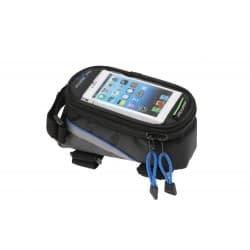 Сумка на раму FB07L 195*100*100мм. увеличенная для сенсорного телефона, синий