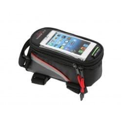 Сумка на раму FB07L 195*100*100мм. увеличенная для сенсорного телефона, красный