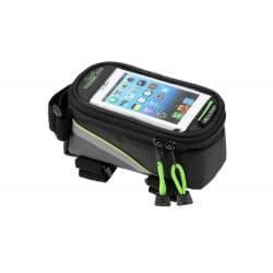 Сумка на раму FB07L 195*100*100мм. увеличенная для сенсорного телефона, зеленый